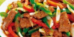 كيفية إعداد فيليه بالخضراوات بالطريقة الصينية