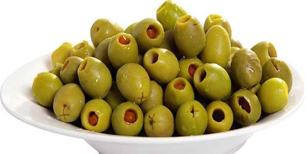 تخليل الزيتون الأخضر - طريقة عمل مخلل الزيتون الخضراء