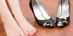 القضاء على رائحة الحذاء