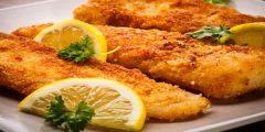 كيفية عمل السمك البانيه