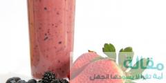 1 42 240x120 - طريقة عمل عصير التوت بالزبادي و الفراولة