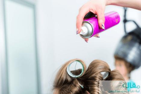 1 6 - ما هي اضرار مثبت الشعر