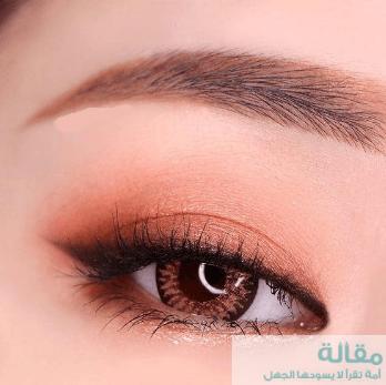3 4 - تكبير العيون بواسطة المكياج الكوري