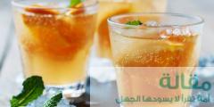 طريقة عمل مشروب البرتقال بالنعناع المثلج