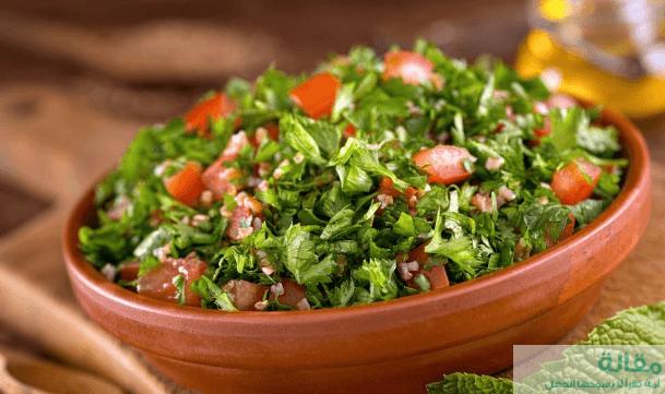 11 20 - طريقة عمل سلطة الطماطم بالثوم و البقدونس