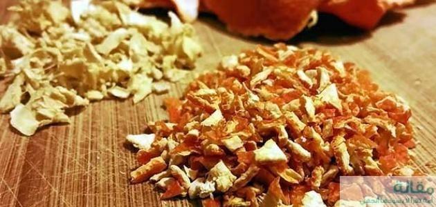 1 256 - اهمية قشر البرتقال
