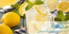 عمل عصير الليمون